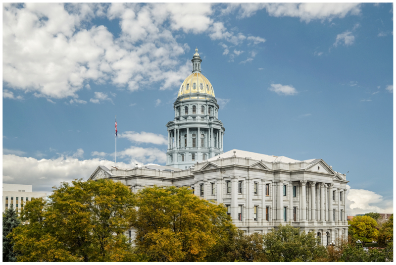 State of Colorado Capitol Architectural Photography