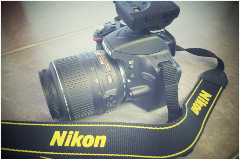 Portrait photography with Nikon D3200
