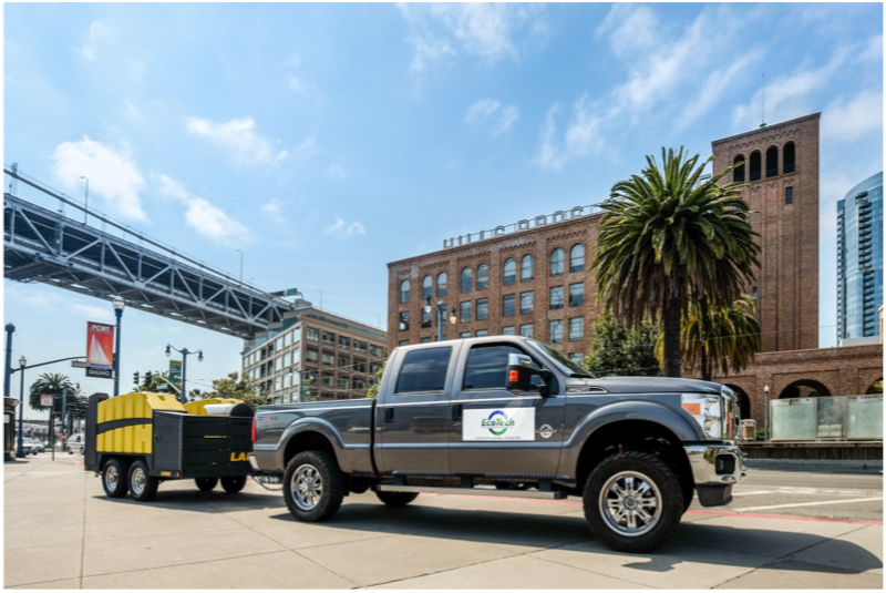 Product Photography for EcoTech Power Washing Solutions in San Francisco